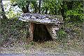 MARCILHAC-SUR-CELE (Lot) - Dolmen de la Combe de Sole (Vu de face).JPG