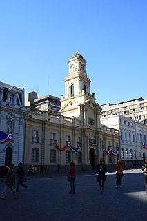 Palacio de la Real Audiencia de Santiago national monument of Chile