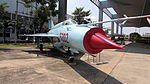 MIG-21 - Front View (RTAF Museum).JPG