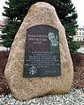 MOs810, WG 2015 54 Okonecczyzna (Czarne, market square) (JP II Monument).JPG