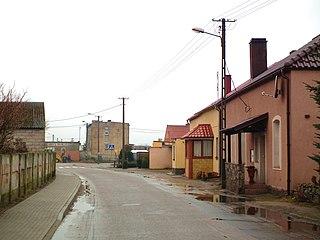Kleszczyna Village in Greater Poland Voivodeship, Poland