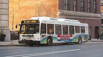 Route 35 (MTA Maryland) - Image: MTA Maryland 10004 35