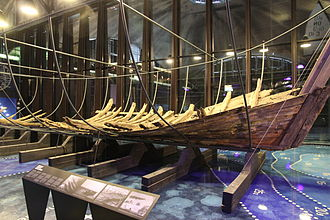 Maritime history - Maasilinna shipwreck from circa 1550 was discovered in 1985 and is now presented in Estonian Maritime Museum. This ship was used in the 16th century in the Baltic Sea.