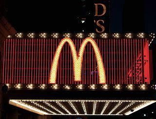 Golden Arches McDonalds logo