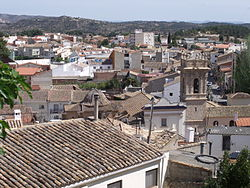 Skyline of Macastre