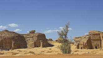 Saleh - Mada'in Saleh or Al-Hijr in the Hijazi mountainous region of Saudi Arabia