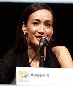 Maggie Q - Maggie Q at Comic-Con 2013.
