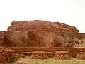 Maha chaitya at Bojjannakonda (a rock cut and semi brick construction).jpg