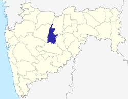 Vị trí của Huyện Jalna