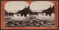 Maid of the Mist going through Whirlpool Rapids, on the Line of the Erie Railway, from Robert N. Dennis collection of stereoscopic views.png