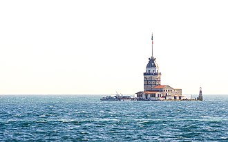 Üsküdar - Kız kulesi (Maiden's Tower), off the coast of Üsküdar