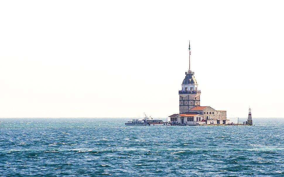 Maiden's Tower (Kız Kulesi), off the coast of Üsküdar