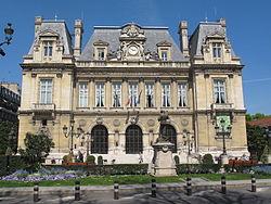 L'hôtel de ville de Neuilly-sur-Seine.