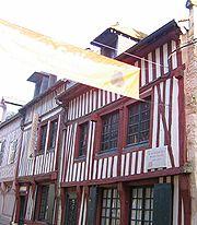 Maison Satie, à Honfleur, Normandie