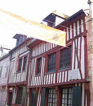 Erik Satie - Satie house and museum in Honfleur, Normandy