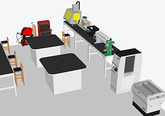 Hackerspace - Makerspace layout