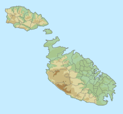 Malta relief location map.png