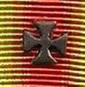 World War I Victory Medal (United States) - Maltese Cross device on U.S. WWI Victory Medal