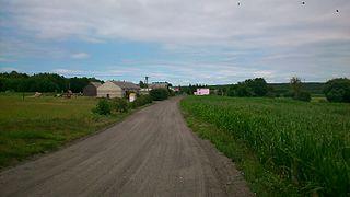 Mały Dólsk Village in Kuyavian-Pomeranian, Poland