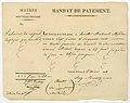 Mandat de Payment Nouvelle Orleans 5 Mar 1818.jpg
