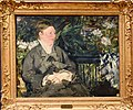 Manet, Madame Manet in the Conservatory, 1879, National Gallery, Oslo (2) (36069252560).jpg