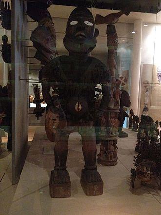Nkisi - Nkisi Mangaaka power figure in Manchester Museum