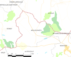 Map commune FR insee code 63011.png