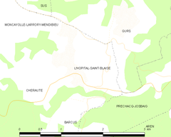 Map commune FR insee code 64264.png