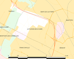 Map commune FR insee code 95491.png