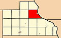 Map highlighting Bellevue Township, Jackson County, Iowa.jpg