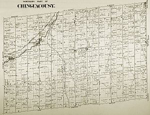 Snelgrove, Ontario - Snelgrove within Chinguacousy Township in an 1880 map, when it was known as Edmonton