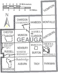 Map of Geauga County Ohio With Municipal and Township Labels.PNG