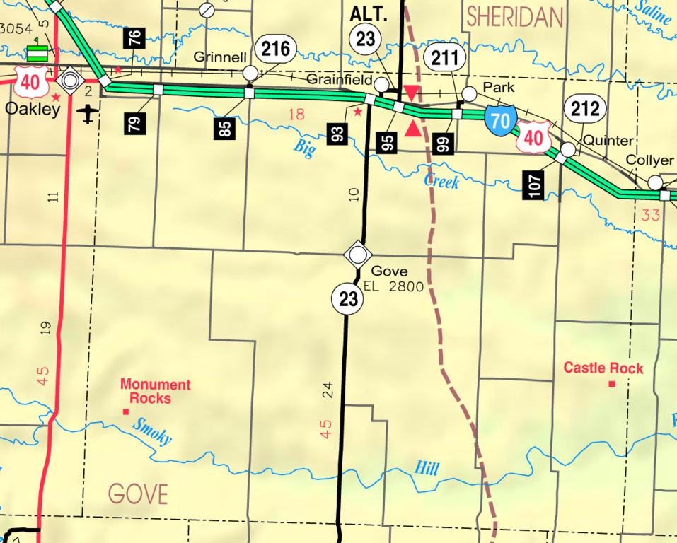 File Map Of Gove Co Ks Usa Png Wikimedia Commons