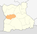Map of Kresna municipality (Blagoevgrad Province).png