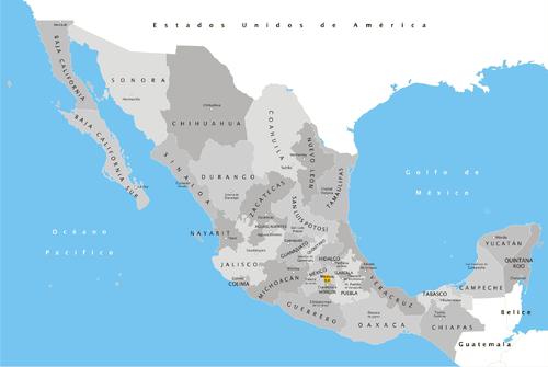 Anexo:Estados de México por