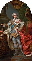 Marcello Bacciarelli - Stanislaus Augustus in coronation robes - Google Art Project.jpg