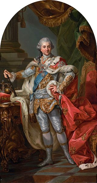 File:Marcello Bacciarelli - Stanislaus Augustus in coronation robes - Google Art Project.jpg