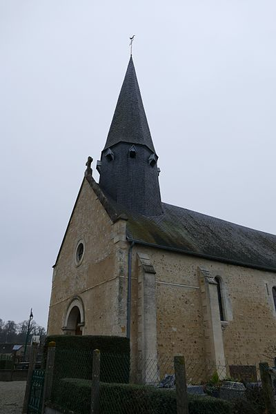 Our Lady's church in Marchemaisons (Orne, Normandie, France).