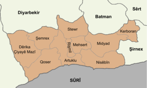 Mardin location districts ku.png