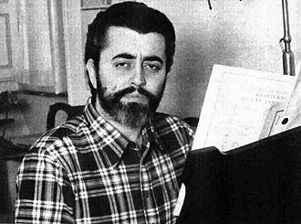 Mario Bertoncini - Mario Bertoncini in Radiocorriere magazine, 1975.