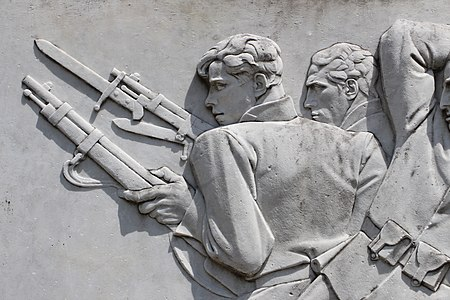 Mario moschi, monumento ai caduti di poggio a caiano, 1928-30, 05.jpg