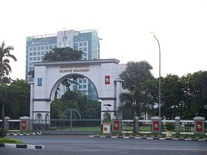 Indonesian Marine Corps - Marine Corps Headquarters in Central Jakarta