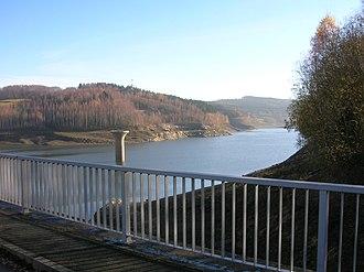 Raschau-Markersbach - Image: Markersbach Talsperre