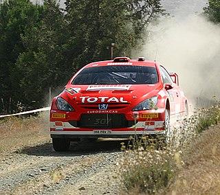 Peugeot 307 WRC Peugeot World Rally Car