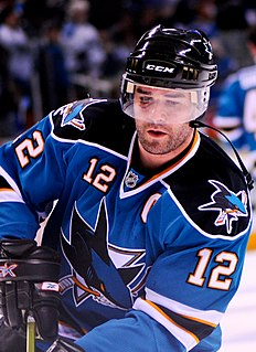 Patrick Marleau Canadian ice hockey player