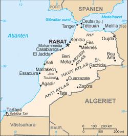 marocko karta Marocko – Wikipedia marocko karta