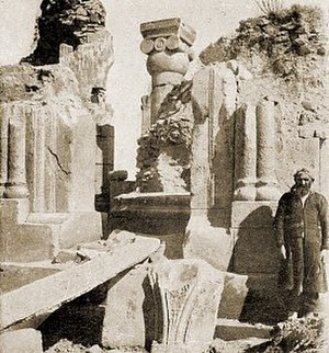 Ani - In 1905–06, archaeological excavations of the church of Saint Gregory of King Gagik were undertaken, headed by Nikolai Marr.