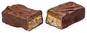 Mars (chocolate bar) - A Mars Almond split
