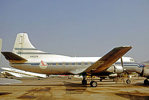 Piedmont Airlines (1948–89) - The Martin 404 was Piedmont's first pressurized airliner type to enter service