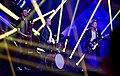 Martin Lindén 03, Robert Jansson 04 & Janne Lindén 05 @ Melodifestivalen 2017 - Jonatan Svensson Glad.jpg